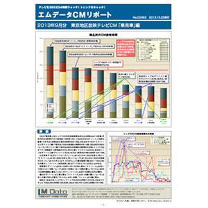 【エムデータCMリポート】(10月号)発売されました。